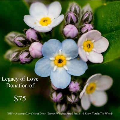 Legacy of Love $75 Donation