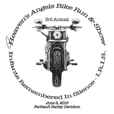 Heaven's Angels Bike Ride Run T-Shirt SHIPPED