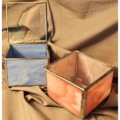Stained Glass Keepsake Box