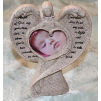 Poetic Guardian Angel Photo Frame